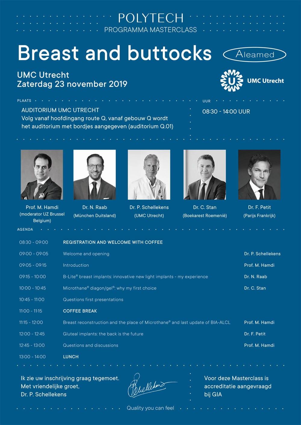Polytech Masterclass am 23. November 2019 in Utrecht/Holland - Dr. Nikolaus Raab