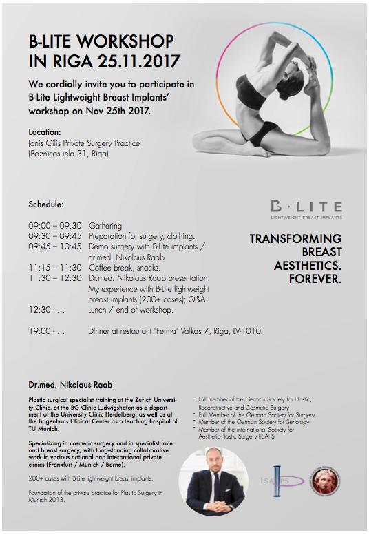 B-Lite Workshop in Riga